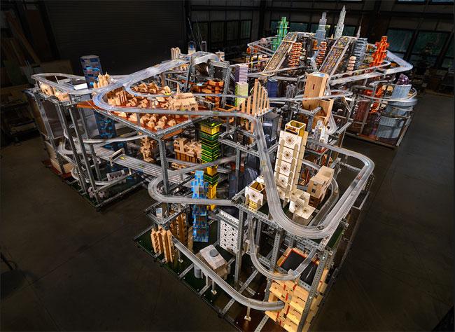 Metropolis-II-Matchbox-Car-Cityscape