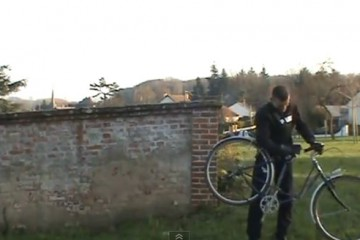 Mickael-Dupont-backflips-vintage-ladies-shopping-bike-2
