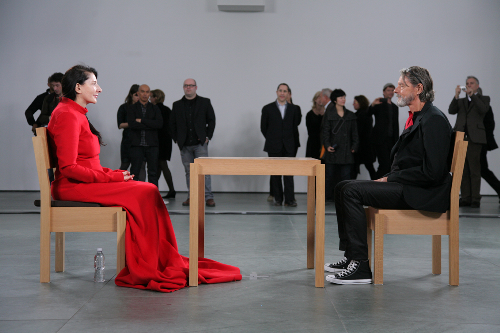 Marina Abramovic and Ulay