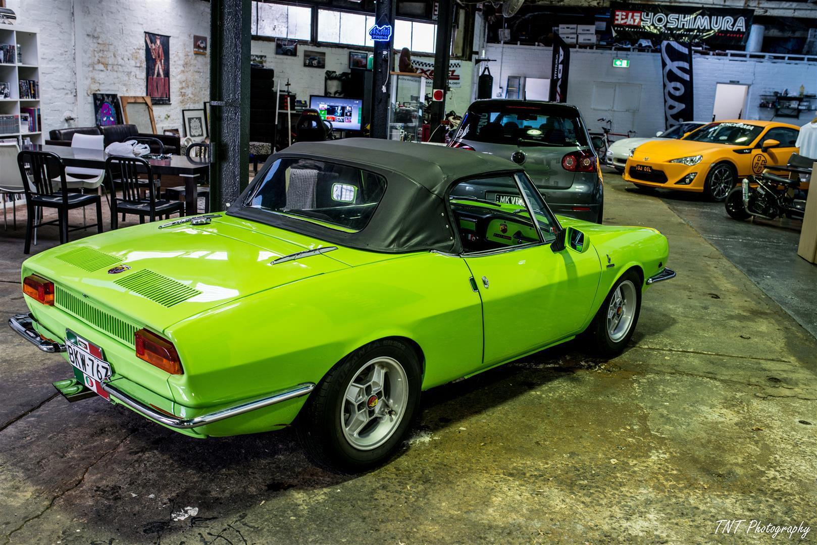 1970 Fiat 850 Spider Abarth Zen Garage