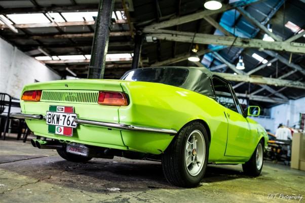 1970 fiat 850 spider abarth zen garage for Garage abarth paris