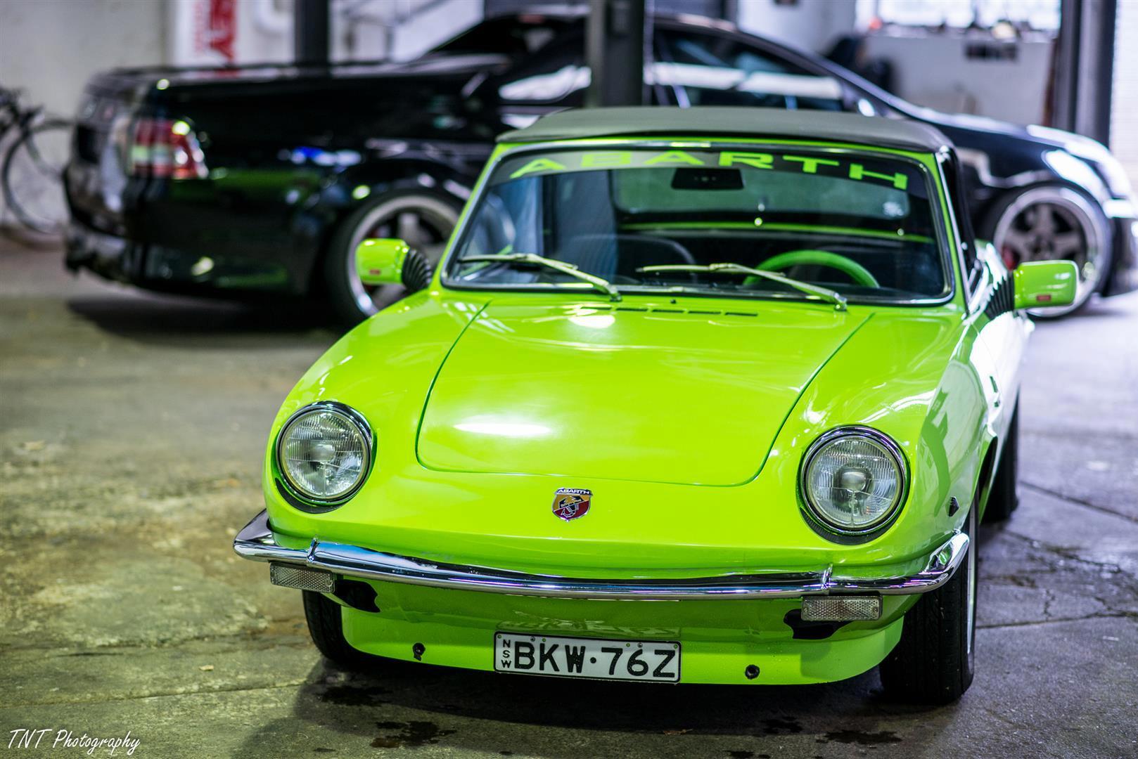1970 FIAT 850 Spider 'Abarth'