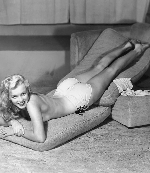Marilyn monroe playboy nue