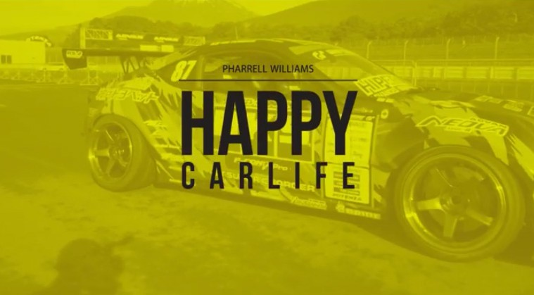 Pharrell williams happy car life zen garage for Garage happy car
