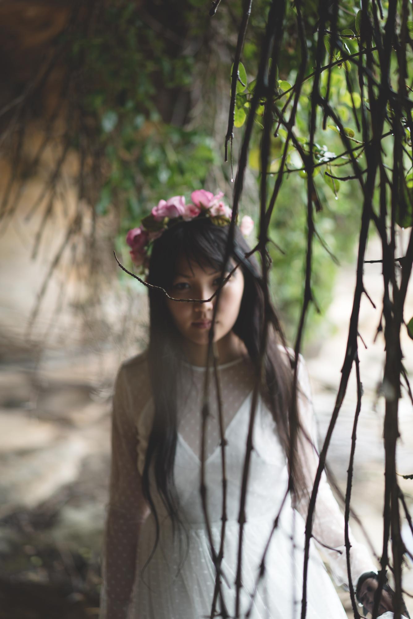 Photoshoot: Rosamina - Zen Garage