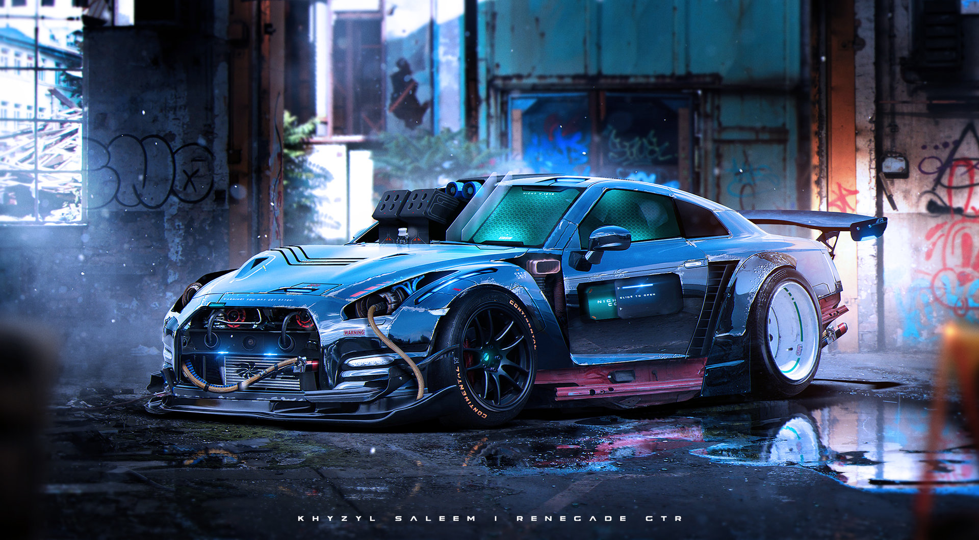 Benz Drift Car >> Khyzyl Saleem - Zen Garage