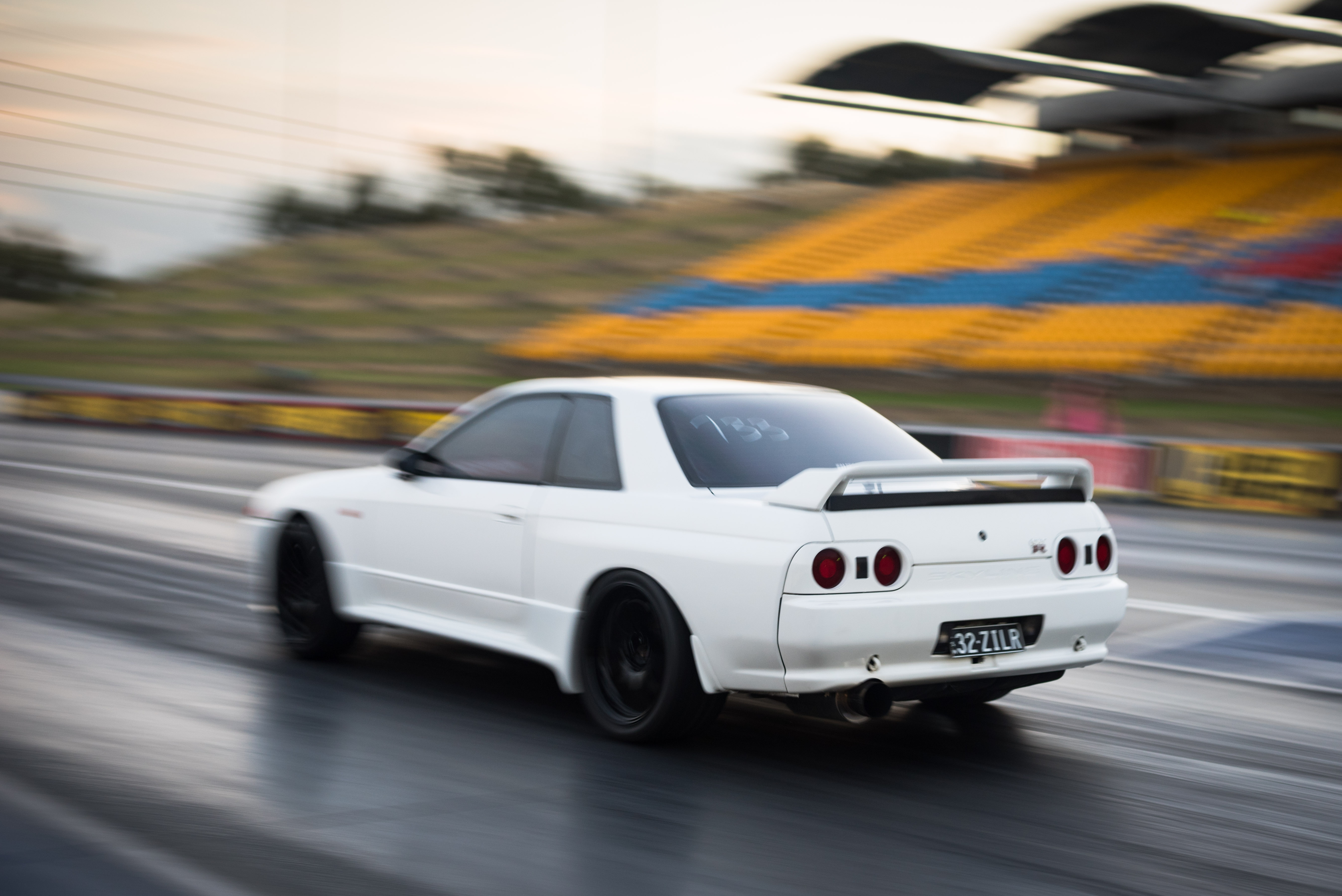 David Dalrymple Hits The Drags In His Time Attack Spec R32