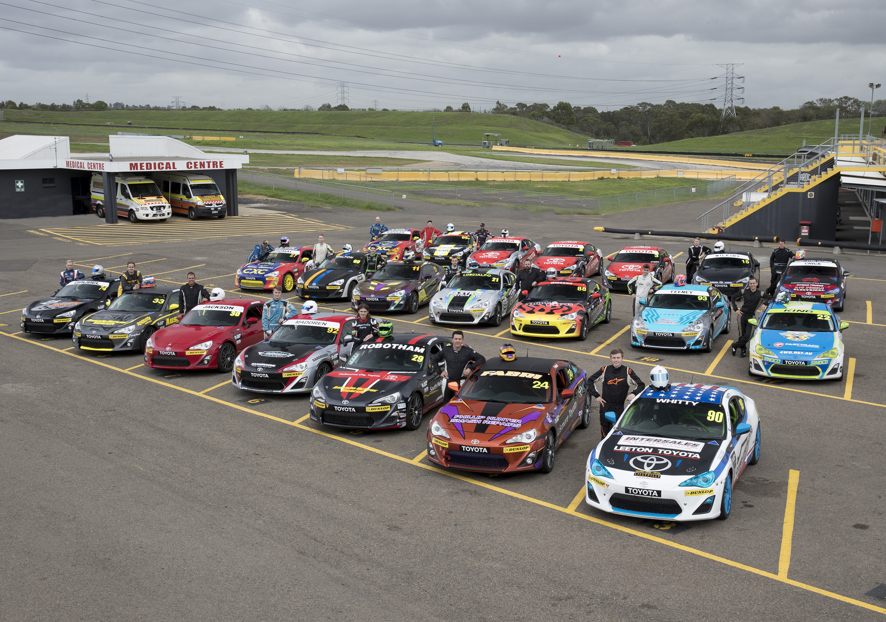 Upcoming stars in reasonably-priced cars: Toyota 86 Racing Series ...