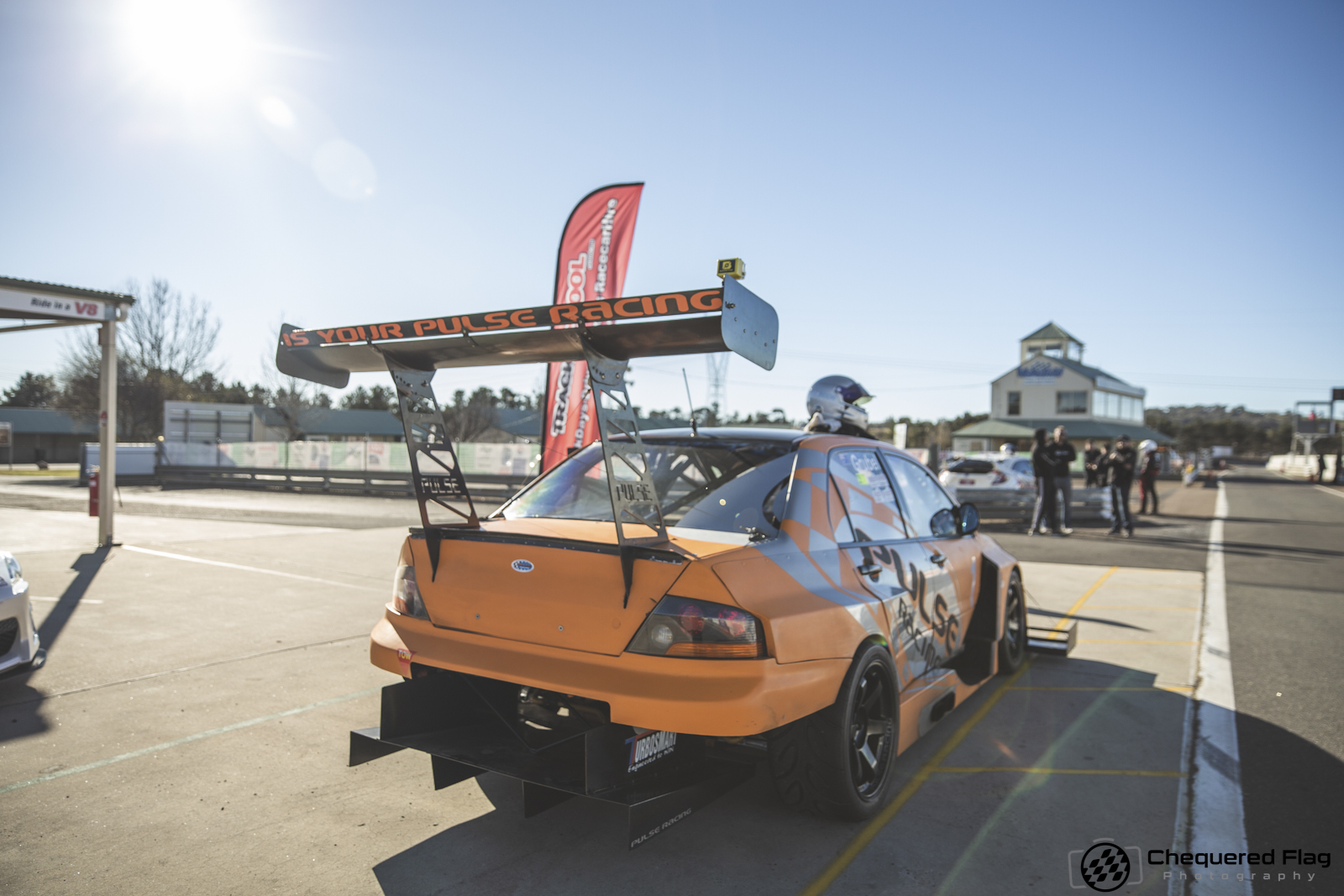 06 - Aus Time Attack - Chequered Flag