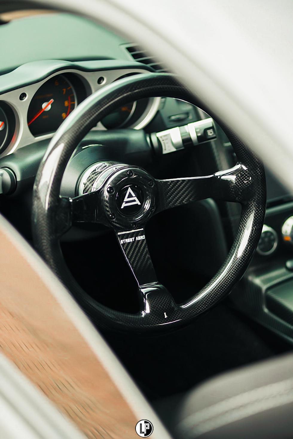 Carbon Fiber Steering Wheel by Street Aero